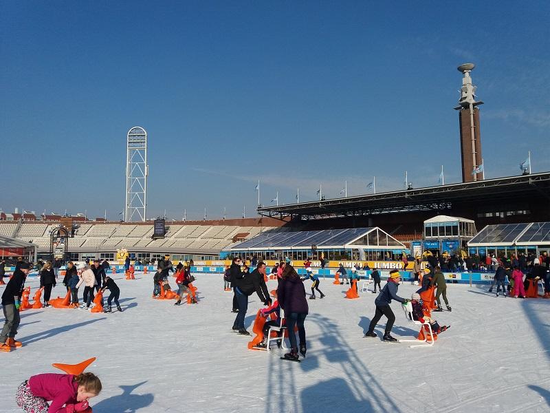 Schaatsen Olympisch Stadion